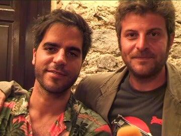 Ernesto Sevilla y Raúl Cimas