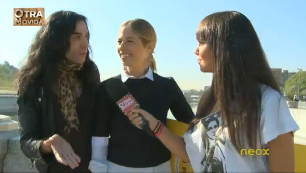 Mario Vaquerizo, Martina Klein y Cristina Pedroche