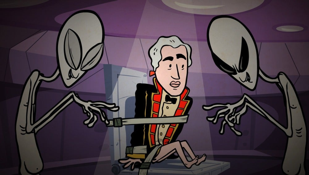 Los extraterrestres cogen al capitán Bounty Onthebounty