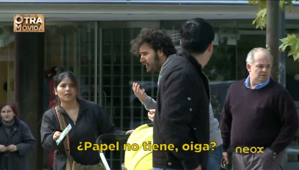 Raúl Gómez con mierda en la cara