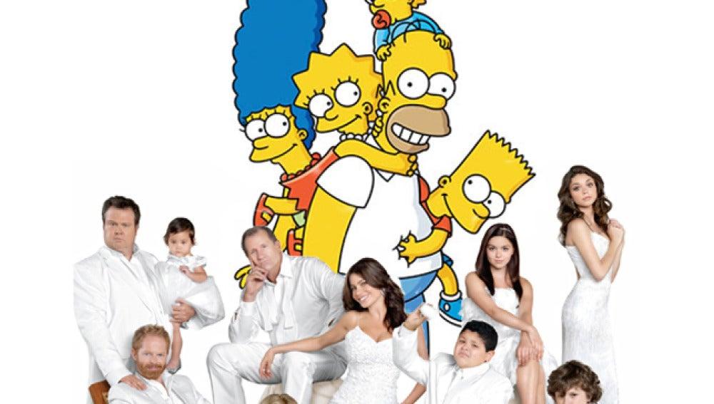 Modern Family y Los Simpson en Fox