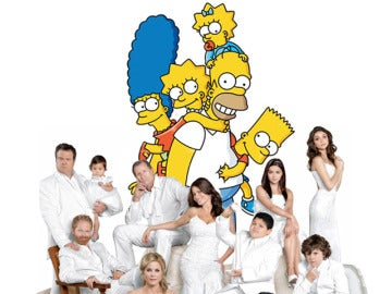 Modern Family y Los Simpson en Fox
