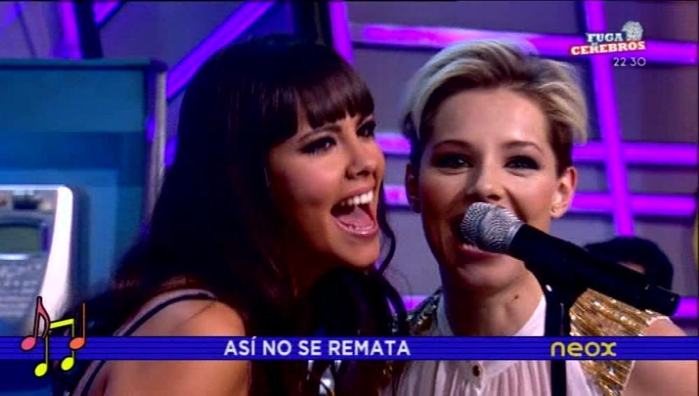 Soraya y Cristina Pedroche