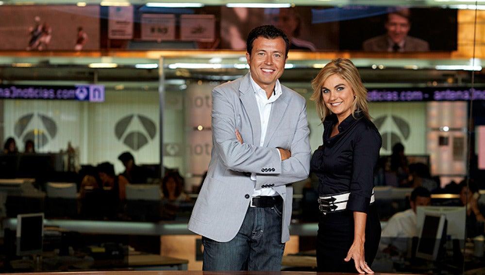 Manu Sánchez y Lourdes Maldonado