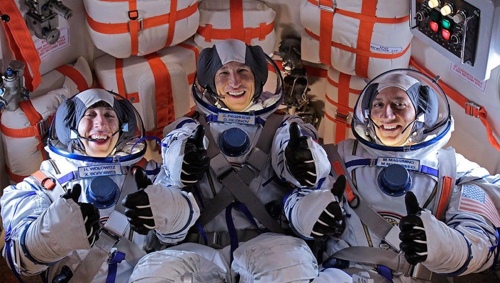 Howard apunto de ir al espacio