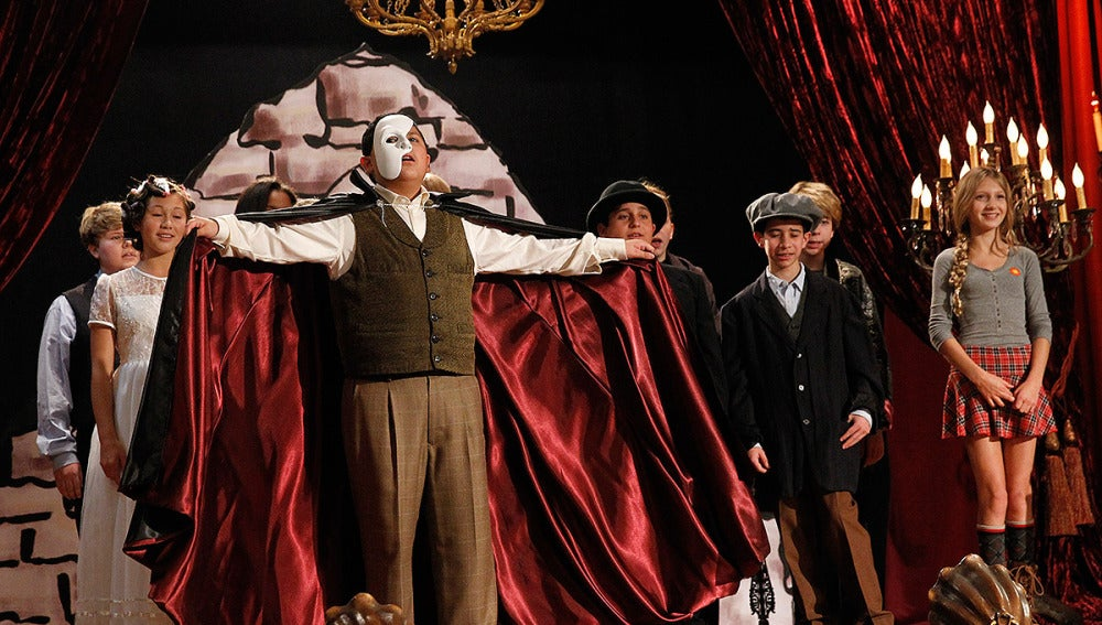 A la ópera
