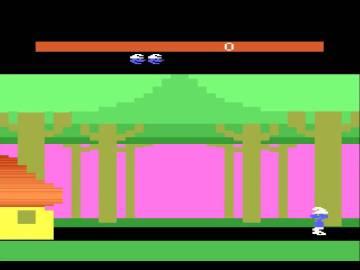 Los Pitufos Atari 2600
