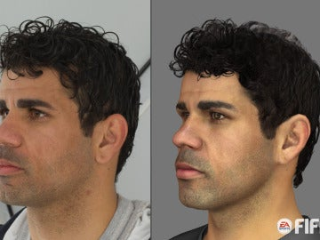 FIFA 14 Captura Facial Atlético de Madrid