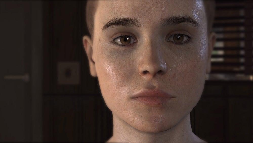 Primer plano de Ellen Page