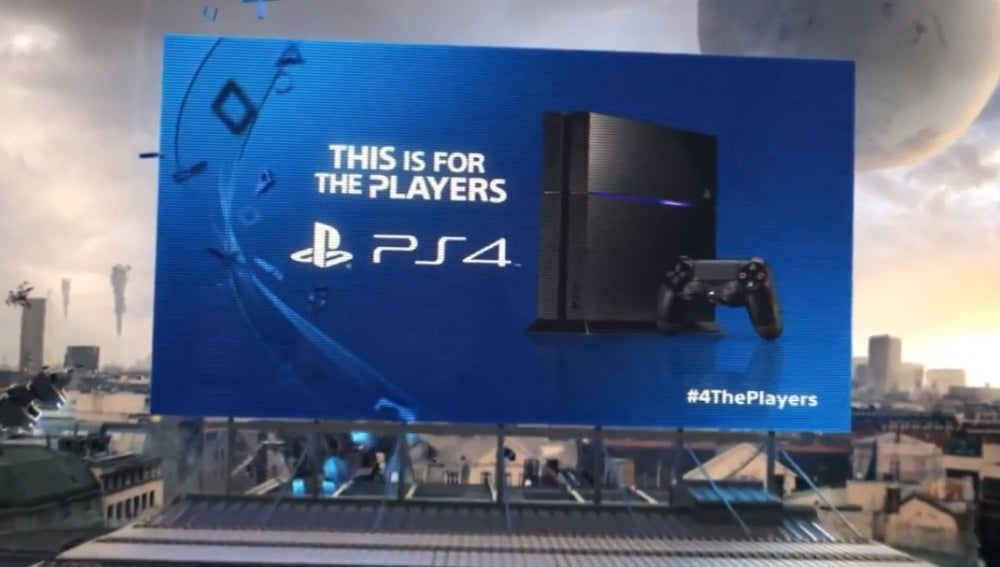 Anuncio de PlayStation 4