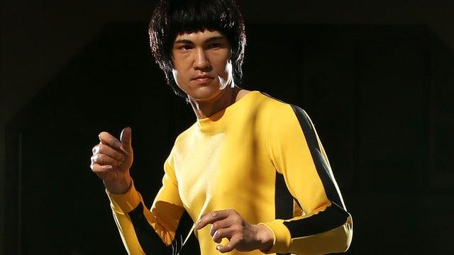 Una estatua de cera de Bruce Lee en Sidney