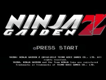 Yaiba: Ninja Gaiden Z Retro