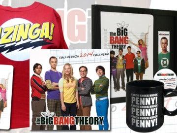"""Regalos del concurso """"The Big Bang Theory: La Exhibición"""""""