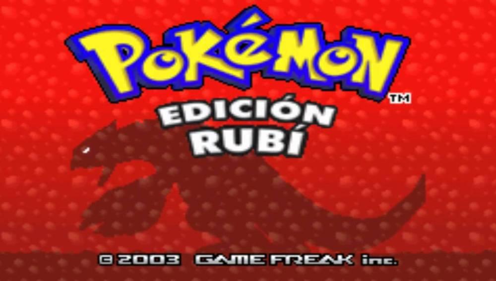 Pokemon Edición Rubí