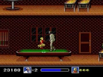 Moonwalker, el juego de Michael Jackson, para Megadrive
