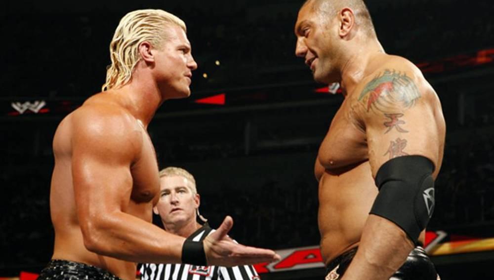 Batista frente a Dolph Ziggler