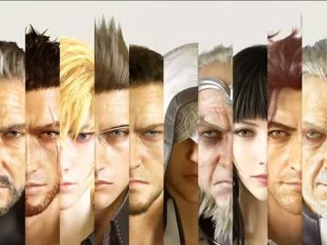 Los personajes de Final Fantasy XV