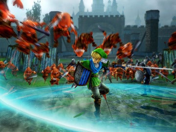 Link, en Hyrule Warriors