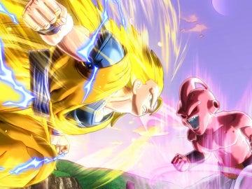 Goku se enfrenta al monstruo Bu