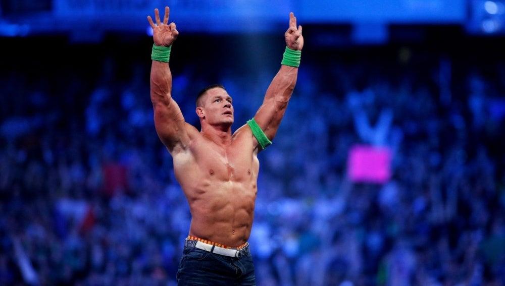 John Cena sigue aumentando su leyenda