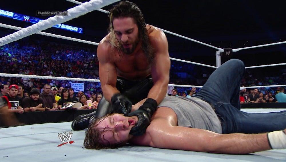 Dean Ambrose derrotado