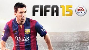 Messi, portada de FIFA 15