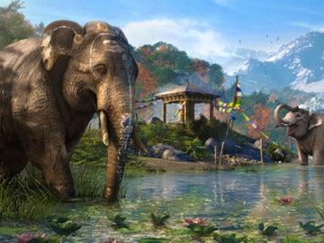 Elefantes en Far Cry 4