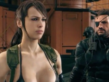 Metal Gear Solid V: The Phantom Pain, The Quiet