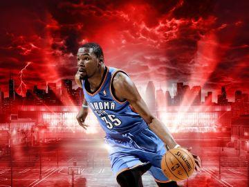 Kevin Durant, imagen de NBA 2K15