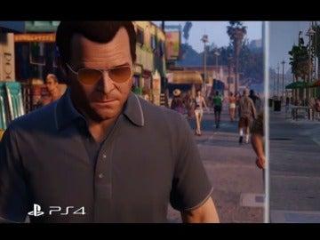 GTA V PS3 vs PS4