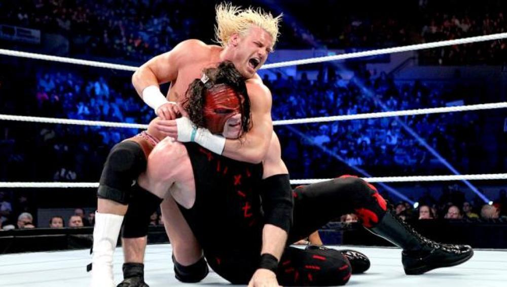 Dolph Ziggler, defiende su cinturón de campeón Intercontinental ante Kane