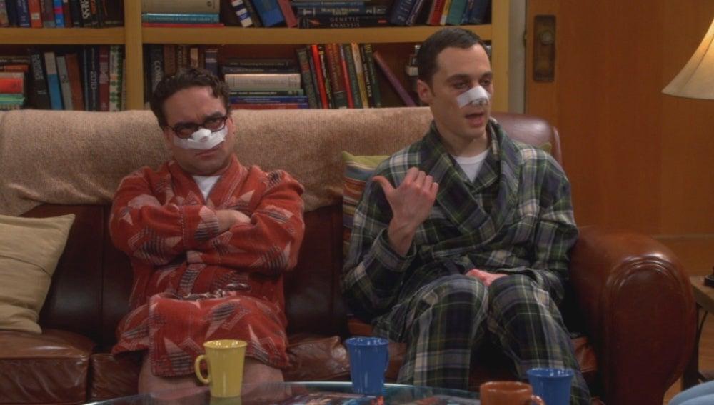 Operados de la nariz, The Big Bang Theory