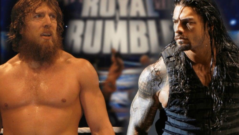 Daniel Bryan y Roman Reigns