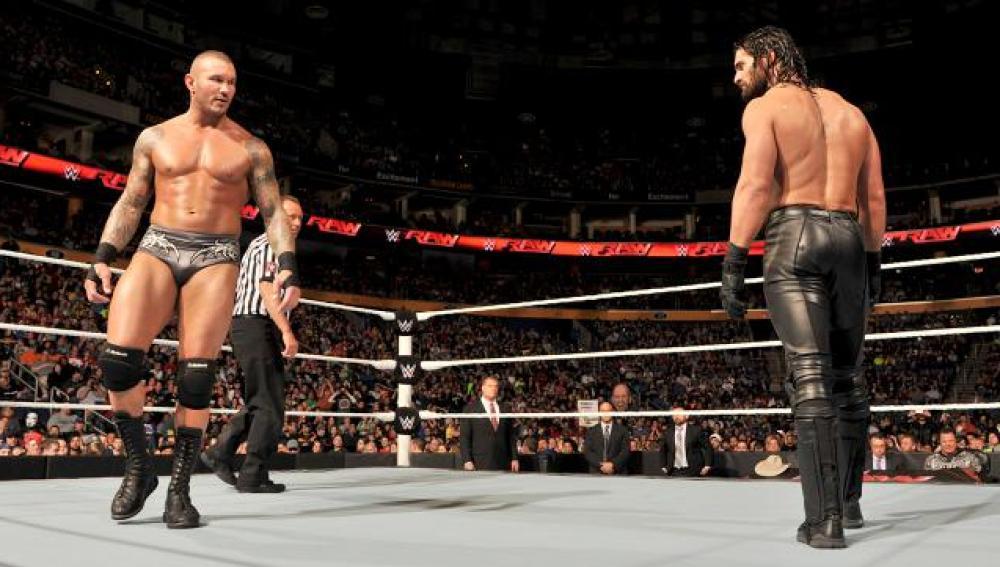 Seth Rollins y Randy Orton