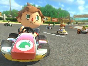 El Aldeano, en Mario Kart 8