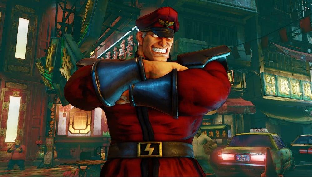 Bison, en Street Fighter V