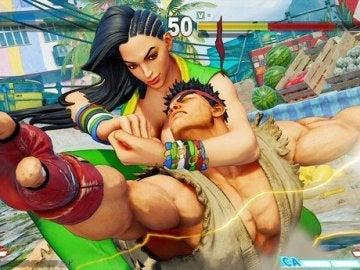Laura en Street Fighter V