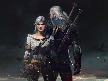 Geralt y Ciri