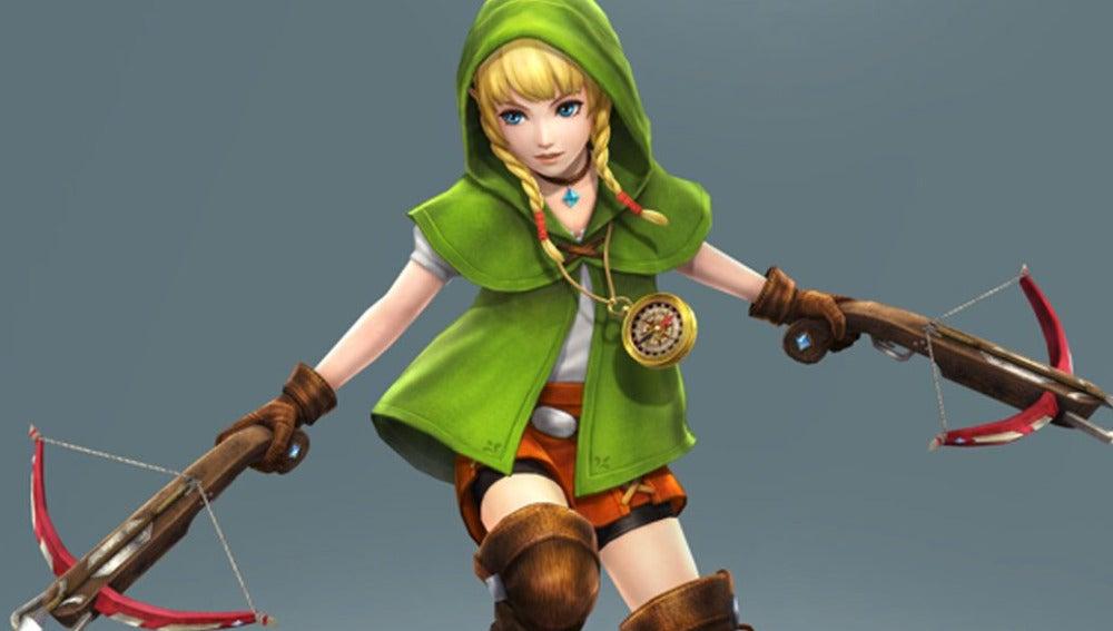 Linkle, nuevo personaje jugable