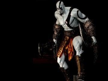 Figura oficial de Kratos