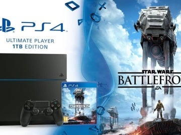 Pack PS4 y Star Wars: Battlefront