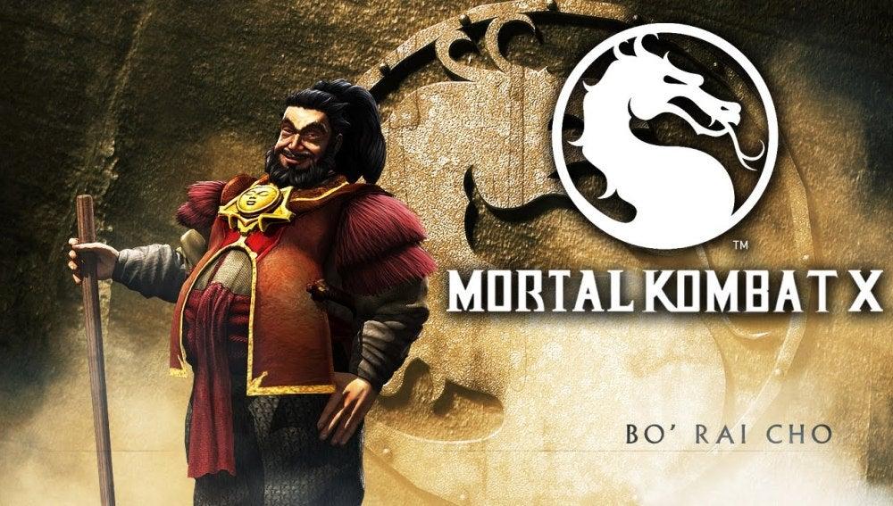 Bo'Rai Cho en Mortal Kombat X