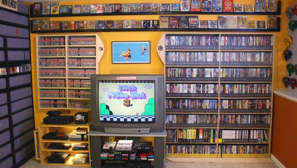 Neox Games Vender Videojuegos Retro En Ebay Puede Hacerte Millonario - Habitacion-retro