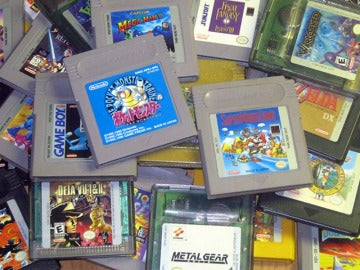 Cartuchos de Game Boy