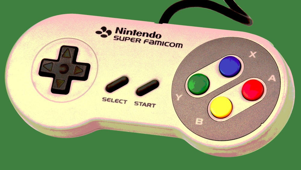 El gamepad de SNES