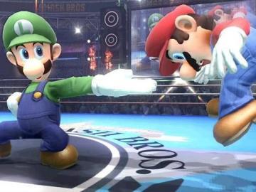 Luigi en Super Smash Bros