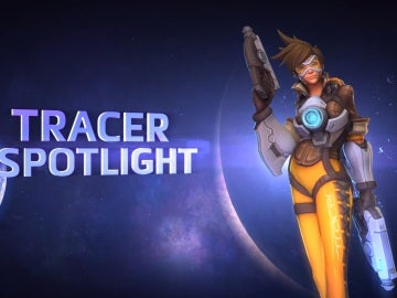 Tracer, en Heroes of the Storm