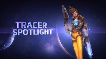 Tracer, en Heroes of the Storm