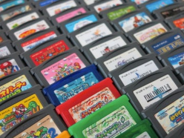 Cartuchos japoneses de Game Boy Advance