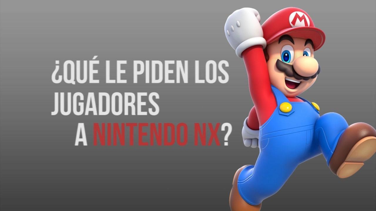 ¿Qué le piden los jugadores a Nintendo NX?